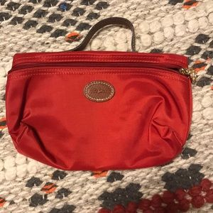 Red Longchamp Pouch
